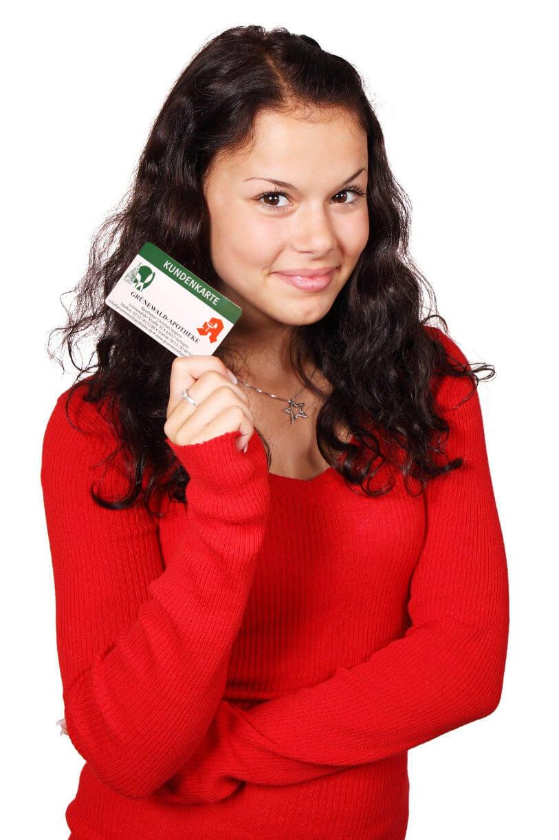 Kundenkarte Grünewaldapotheke komprimiert