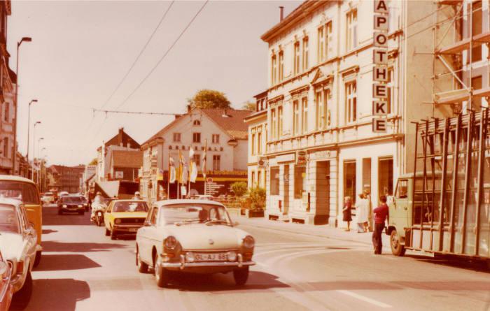 1976 - Die Apotheke auf der Grünewalderstr. 37