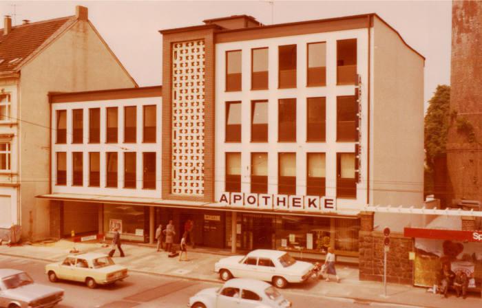 1977 - Die Apotheke auf der Grünewalderstr. 35